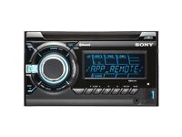 Sony Wx Gt90Bt CAR/VAN MUSIC SYSTEM /CD/MP3. Bluetooth built in,GOOD SYSTEM £30 NO OFFERS