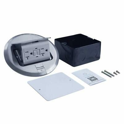 Ul Listed Multi-application Electrical Floor Outlet Box Aluminium Cover