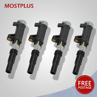 4 PACK Quality Ignition Coil for CLIO LAGUNA MEGANE  UK Stock 700107177