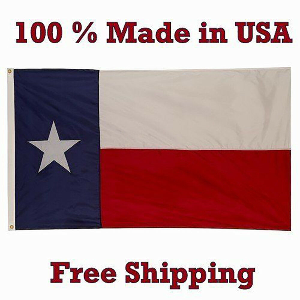 3x5 State of Texas Flag 3'x5' MADE IN USA