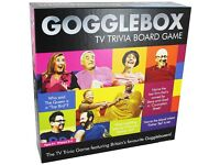 Brand new gogglebox board game