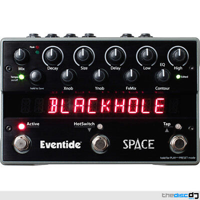 Eventide Space Reverb Pedal, Effects Processor