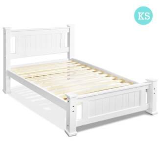 Wooden Bed Frame - King Single
