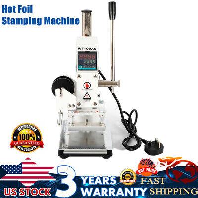 Wt-90as Digital Hot Foil Stamping Machine Manual Bronzing Machine Holder