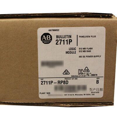 Allen-bradley Panelview Plus 6 700-1500 Logic Module Dc Power 2711p-rp8d Ser B