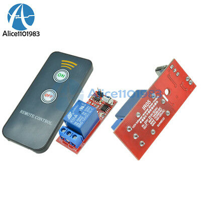 1 Channel Infrared Switch Relay Driving Module Board 12v Remote Controller