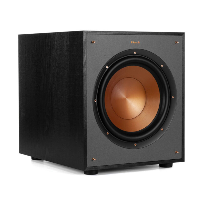 Klipsch Reference R-100sw Black Subwoofer - Each