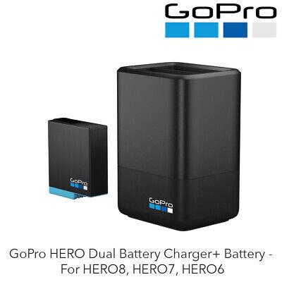 GoPro HERO Dual Battery Charger+ Battery - For HERO8, HERO7, HERO6