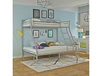 🎆💖🎆Excellent Quality🎆💖🎆TRIO METAL BUNK BED FRAME DOUBLE BOTTOM & SINGLE TOP HIGH QUALITY
