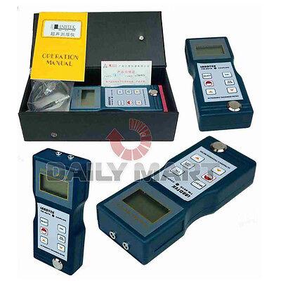 New Ultrasonic Wall Thickness Digital Testing Tm-8810 Gauge Meter Steel Pvc