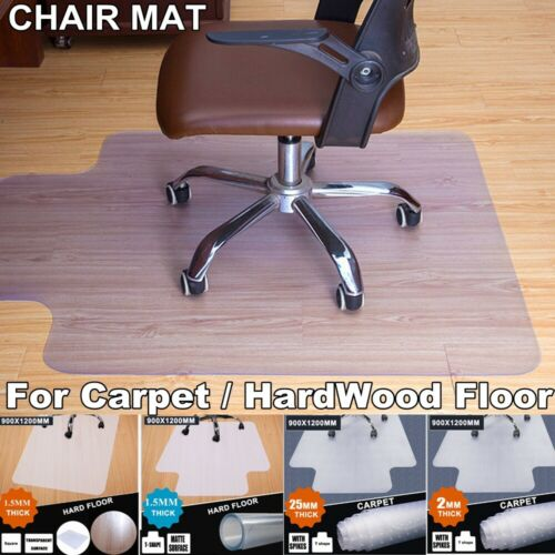 Home Office Chair Mat for Carpet HardWood Floor Protector Un