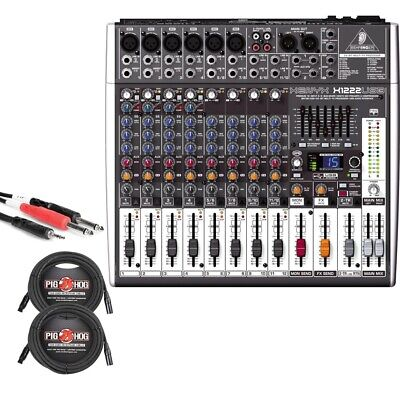 Behringer X1222USB 16-Input 2/2-Bus Mixer USB Audio Interfac