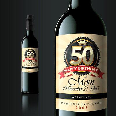 6 Custom Wine Labels