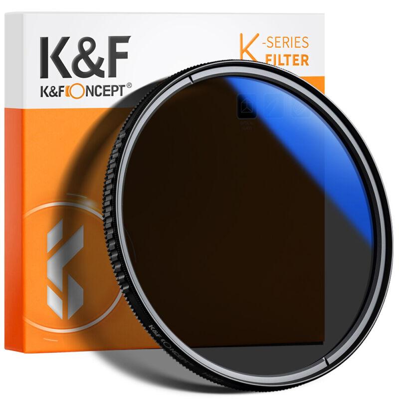 K&F Concept 49-82mm Ultra Slim Circular Polarizer CPL Filter For Camera Lens
