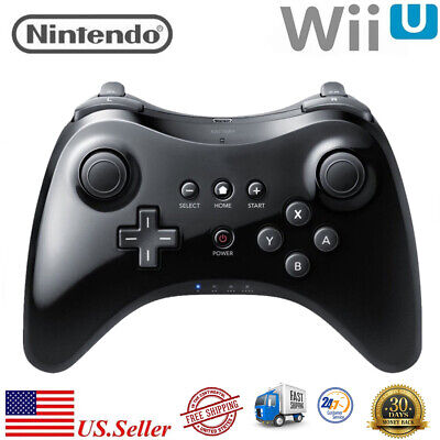 For Nintendo Wii U Bluetooth Wireless U Pro Game Controller Gamepad Joypad Black