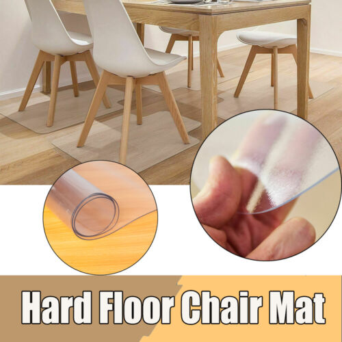 PVC Rolling Chair Floor Mat Protector for Office Desk Pad Ha