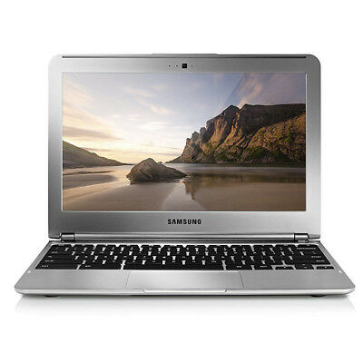 Samsung Chromebook 11 6 Laptop 1 7Ghz  2Gb Ram  16Gb Ssd  Silver Webcam Xe303c12