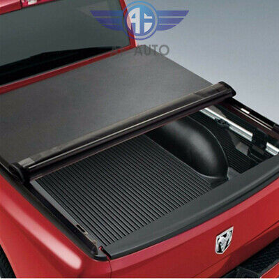 For 94-01 Dodge Ram 1500/2500/3500 6.5 FT Bed Lock Roll Up Soft Tonneau Cover