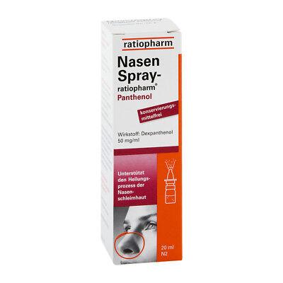 NasenSpray-ratiopharm Panthenol 20ml PZN 01970611