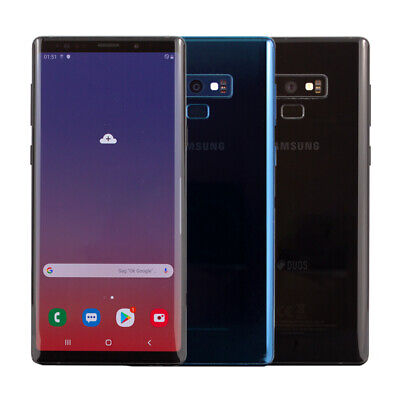 Samsung Galaxy Note 9 Dual Sim 6,4 Zoll 128GB Schwarz Blau Top Angebot WOW online kaufen