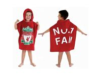 Kids Official Football Ponchos/Towels!