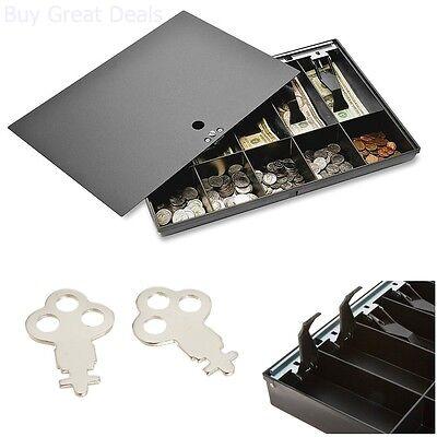 Cash Box Register Money Tray For Sparco Locking Cashier Storage Drawer Security