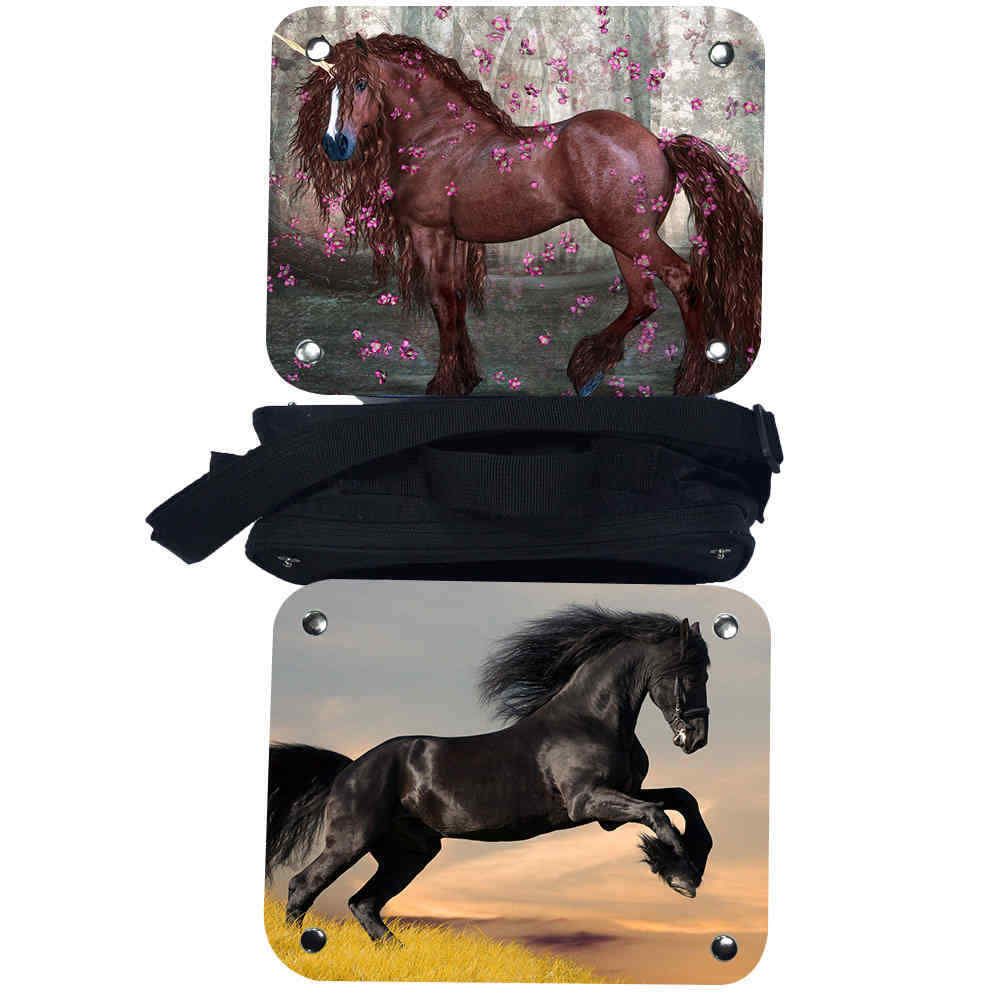 horse lunch bag for girls boys teenagers