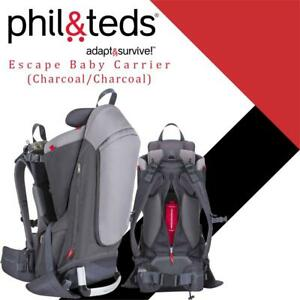 NEW philteds Escape Baby Carrier (Charcoal/Charcoal) Condtion: New, Charcoal/Charcoal