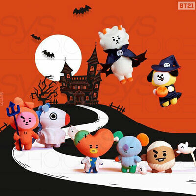 BTS BT21 Official Goods Standing Doll Halloween Ver.2 - 2019 new