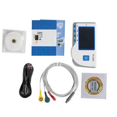 Pc-80b Handheld Color Screen Ecg Ekg System Heart Monitor Single Channel Ekg