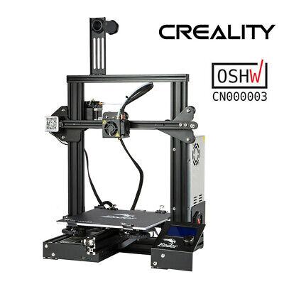 Worn Creality Ender 3 3D Printer 220X220X250mm