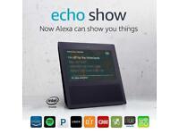 Amazon Echo Show with Smart Speaker Alexa - Black - Brand new and Sealed