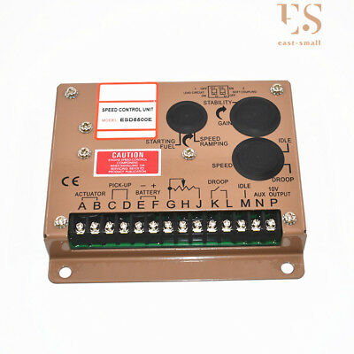 New Electronic Engine Speed Controller Governor Esd5500e Generator Genset Parts