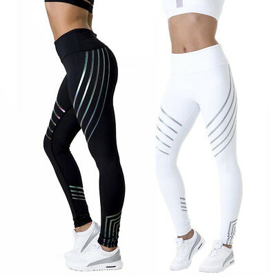Womens Workout Leggings Sports Yoga Gym Fitness Pants Jumpsuit Athletic Clothes