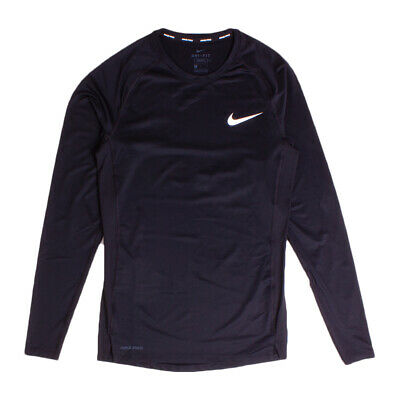 Nike Dri Fit Black Pro Core Base Layer Top