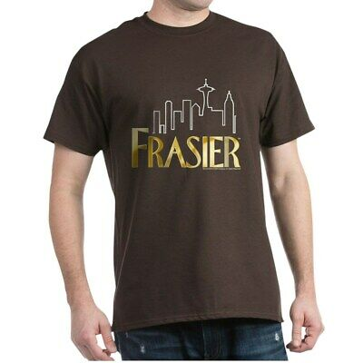 CafePress Frasier Logo Design Dark T Shirt 100% Cotton T-Shi