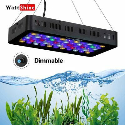 Fish saltwater aquarium Lamp led Dimmable aquarium light 180W Marine fish tank