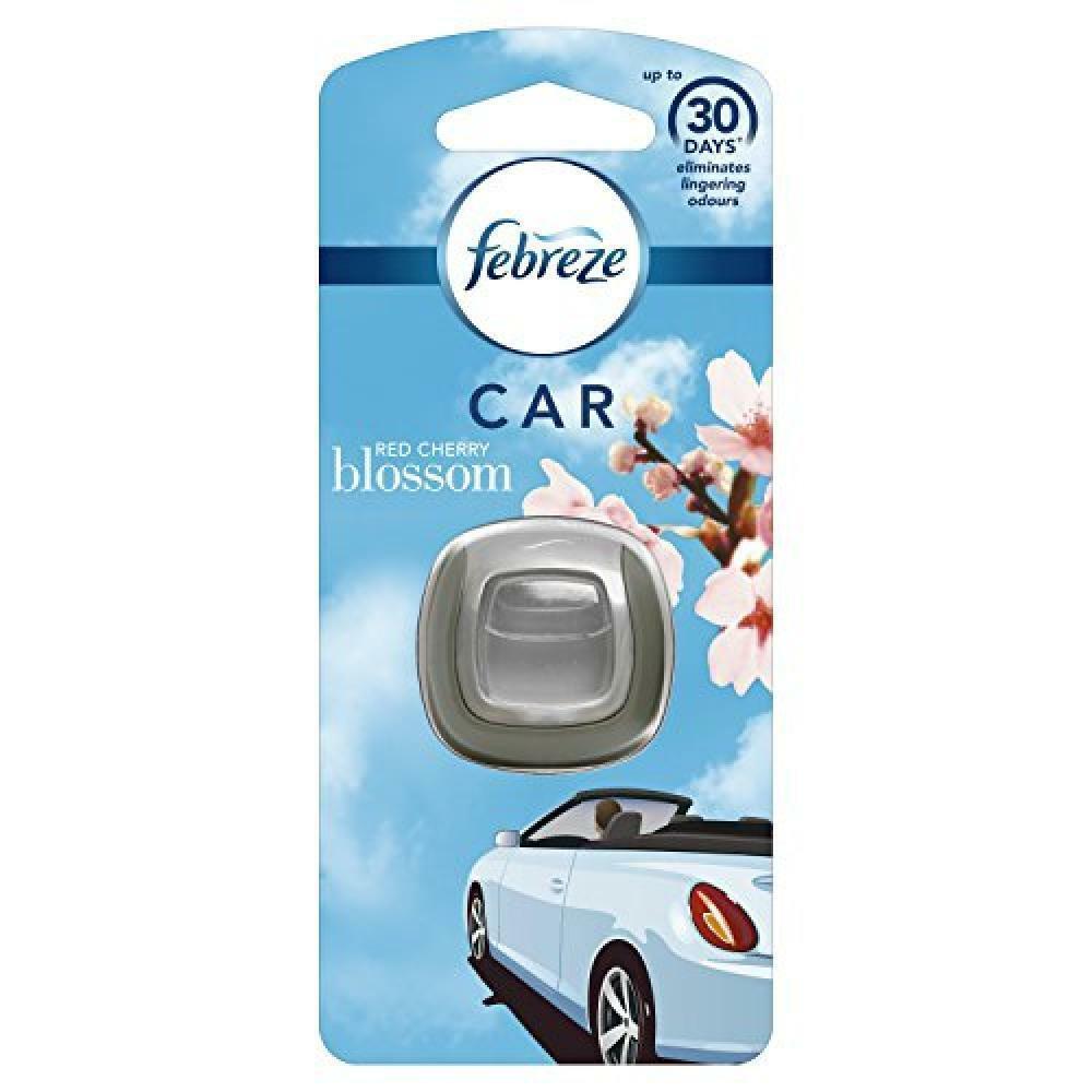 Febreze Red Cherry Blossom Car Clip Air Freshener