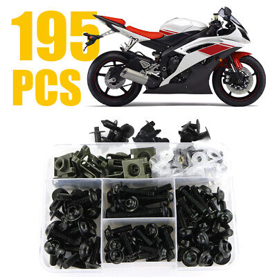 For Kawasaki Motorcycle Complete Fairing Bolt Kit Body Screw Accessories Parts