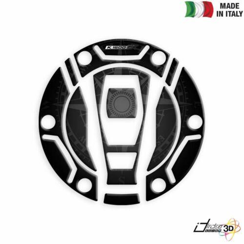 PARASERBATOIO ADESIVO RESINATO PROTEZIONE 3D NERO PER BMW F 800 GT 2013-2018