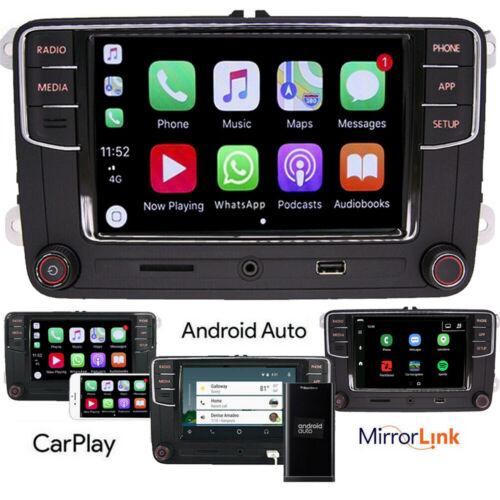 Autoradio RCD330,BT,Carplay,Android Auto,USB,RVC Für VW Golf 5 6 Passat Caddy CC