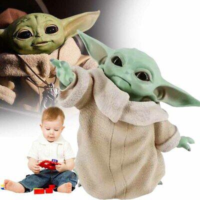New Baby Yoda Naughty The Mandalorian Child PVC Figure 15cm Star War Gifts Hot
