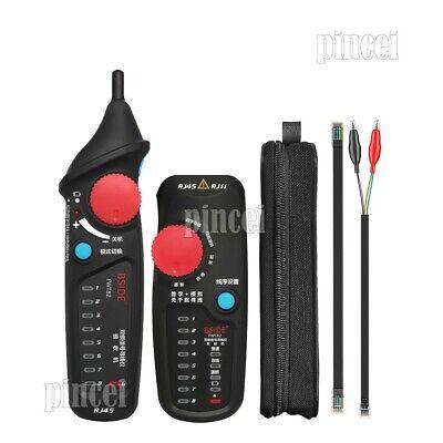 Analog Digital Mode Ethernet Cable Tester Network Cable Tracker Line Finder