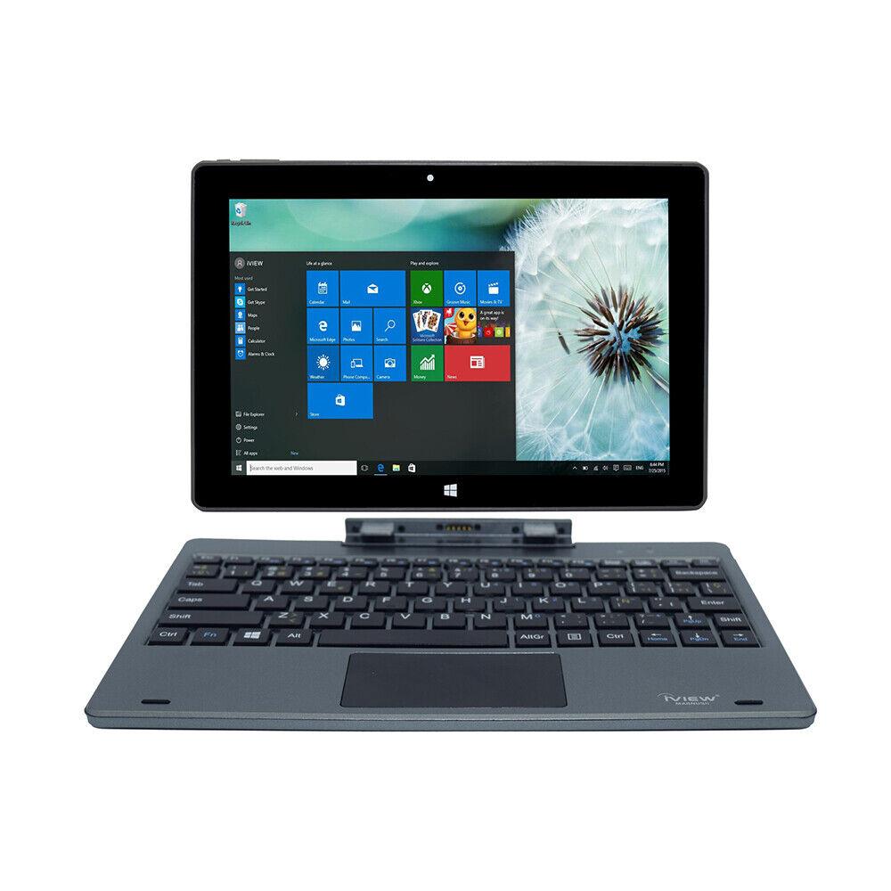 """Laptop Windows - iView Magnus Plus 10.1"""" Touchscreen Tablet Laptop, Intel Quad Core, Windows 10"""