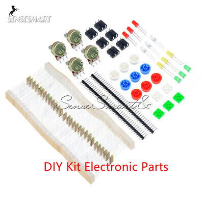 Diy Kit Electronic Parts Pack 100pcs 1k Resistors For Arduino Component Switch