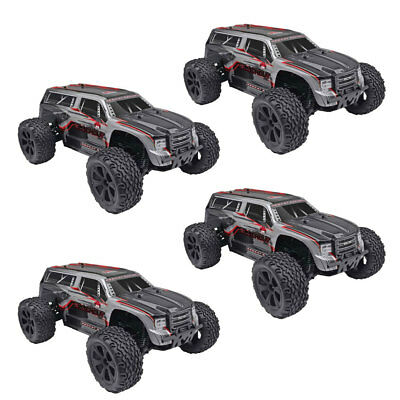 Redcat Racing Blackout XTE 1/10 Scale Electric RC Monster Truck SUV (4 Pack)
