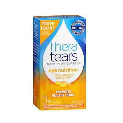 Theratears Nutrition Dry-eye Relief Capsules [omega-3 Sup...