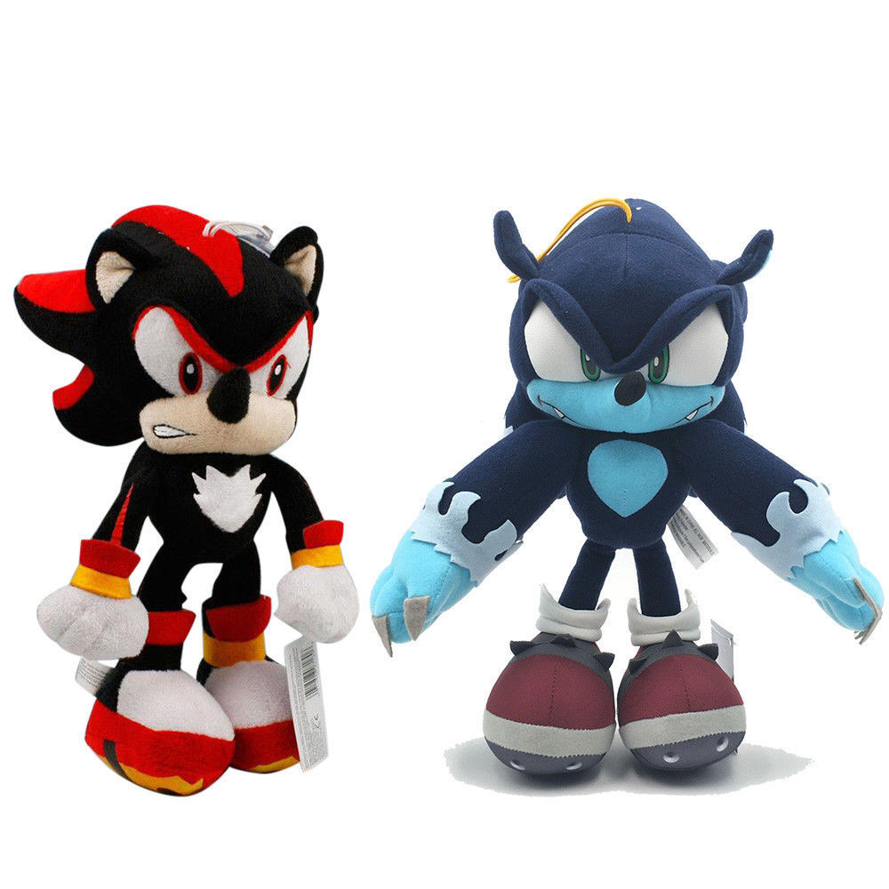Sonic The Hedgehog Blaze And Shadow Sonic Stuffed Toys Plush Doll Gift 2pcs Sumo Ci