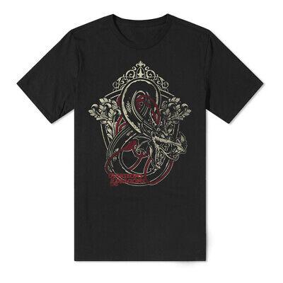Hasbro Dungeons & Dragons Iconic Logo T Shirt Male Extra Extra Large Black