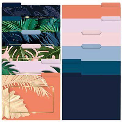 Primefair Pack Of 12 Decorative Manila Folders 6 Colored And Designed File Size